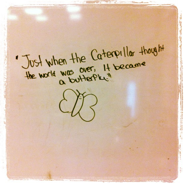 On the Band Room Quote Board Today… | Kenley Kristofferson